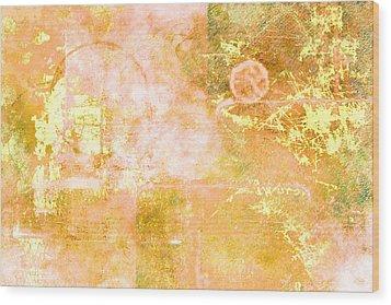 Orange Peel Wood Print by Christopher Gaston