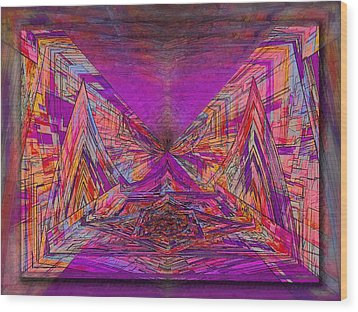 Rumblings Within Wood Print by Tim Allen