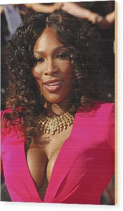 Serena Williams At Arrivals For The Wood Print by Everett