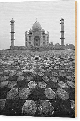 Taj Mahal Wood Print by Nina Papiorek