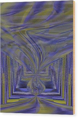 Tempest Wood Print by Tim Allen