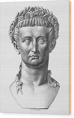 Tiberius (42 B.c.- 37 A.d.) Wood Print by Granger