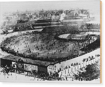 World Series, 1903 Wood Print by Granger