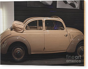 1938 Mercedes Benz 170h - 7d17311 Wood Print by Wingsdomain Art and Photography