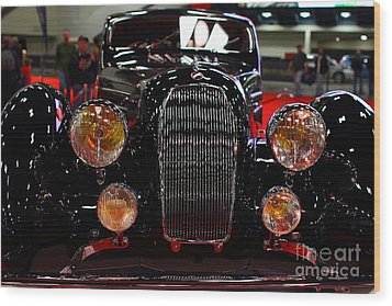 1938 Talbot Lago T150-c Speciale Teardrop Coupe . 7d9310 Wood Print by Wingsdomain Art and Photography