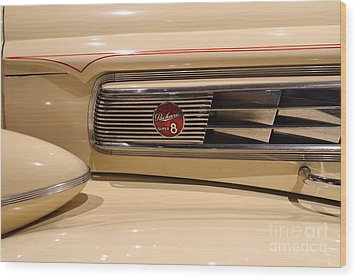 1939 Packard Super Eight Phaeton - 7d17406 Wood Print by Wingsdomain Art and Photography