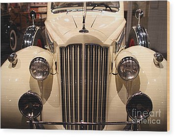 1939 Packard Super Eight Phaeton - 7d17407 Wood Print by Wingsdomain Art and Photography