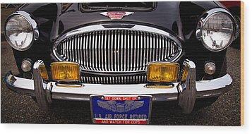 1962 Austin Healey 3000 Mkii Wood Print by David Patterson