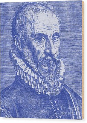Ambroise Paré, French Surgeon Wood Print by Science Source