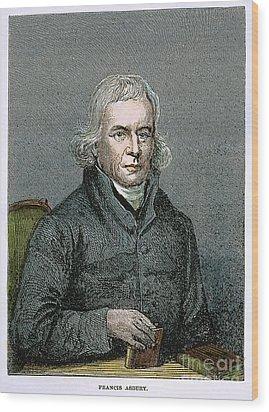 Francis Asbury (1745-1816) Wood Print by Granger