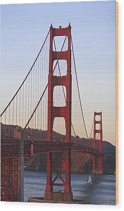 Golden Gate Bridge San Francisco Wood Print by Stuart Westmorland