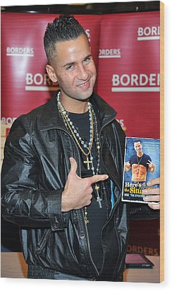 Mike The Situation Sorrentino Wood Print by Everett