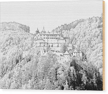 Schloss Hohenwerfen Werfen Austria Wood Print by Joseph Hendrix
