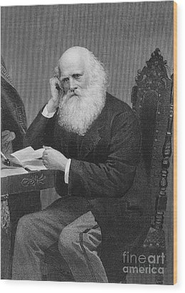 William Cullen Bryant Wood Print by Granger