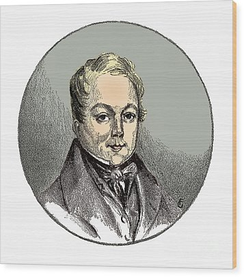François Magendie, French Physiologist Wood Print by Science Source