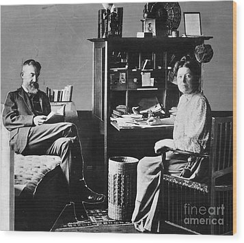 George Bernard Shaw Wood Print by Granger