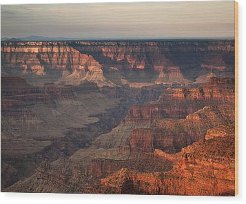 Grand Canyon Wood Print by Aurica Voss