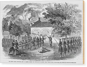 Harpers Ferry, 1859 Wood Print by Granger