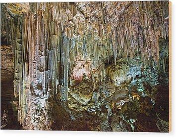 Nerja Caves In Spain Wood Print by Artur Bogacki