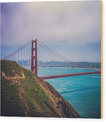 Instagram Photo Wood Print by Kevin Henney