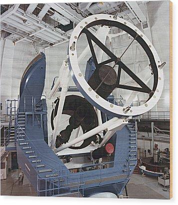 3.5-metre Optical Telescope Wood Print by Eckhard Slawik