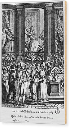 French Revolution, 1789 Wood Print by Granger