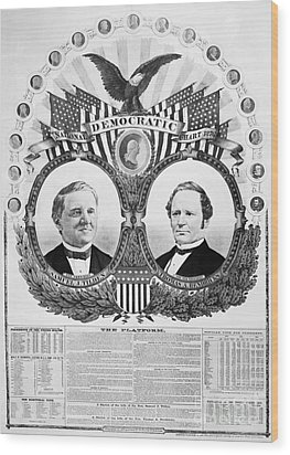 Presidential Campaign, 1876 Wood Print by Granger