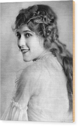 Mary Pickford, Ca. 1918 Wood Print by Everett