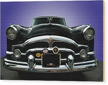 54 Packard Wood Print by Paul Barkevich
