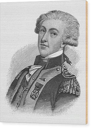 Marquis De Lafayette Wood Print by Granger