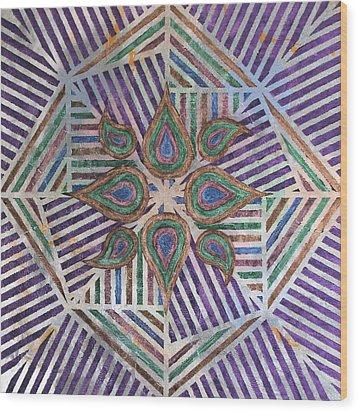 Untitled Wood Print by Austin Zucchini-Fowler