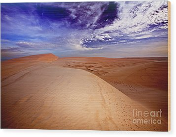 Desert Wood Print by MotHaiBaPhoto Prints