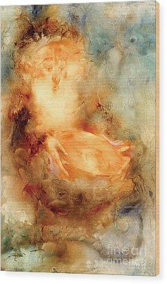A Magic Mirror Wood Print by Svetlana and Sabir Gadzhievs