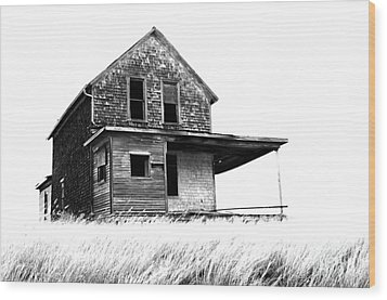 Abandoned And Alone 2 Wood Print by Bob Christopher