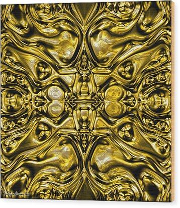 Abrakadabra I.   Wood Print by Tautvydas Davainis