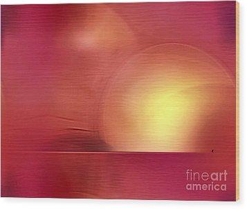 Abstract 11 Wood Print by John Krakora
