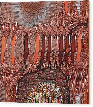Abstract 769 Wood Print by Nedunseralathan R