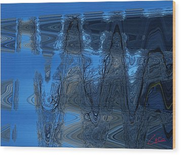 Abstract Flying Trees Wood Print by Colette V Hera  Guggenheim