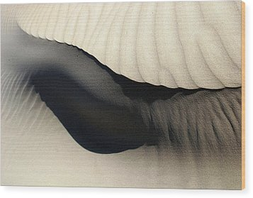 Abstract Sand 4 Wood Print by Arie Arik Chen