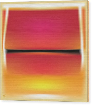 After Rothko Wood Print by Gary Grayson