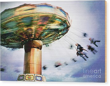 All The Fun Of The Fair Wood Print by Catherine MacBride