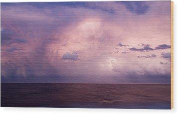 Amazing Skies Wood Print by Stelios Kleanthous