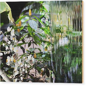 Ambiance Wood Print by Elizabeth Hart