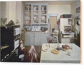 American Kitchen Wood Print by Granger