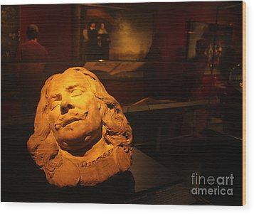 Amsterdam Rijksmuseum Statue Wood Print by Gregory Dyer