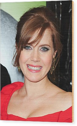 Amy Adams At Arrivals For Leap Year Wood Print by Everett