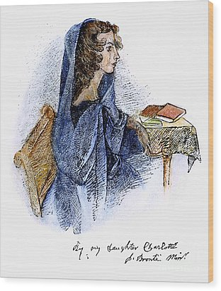 Ann Bronte (1820-1849) Wood Print by Granger