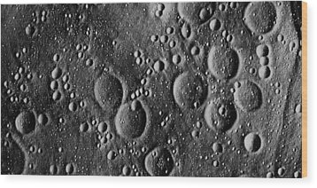 Apollo 13 Planned Landing Site On Moon Wood Print by Nasa