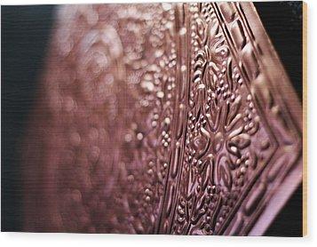 Arabic Ornament Wood Print by Devon VP