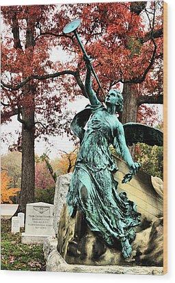 Archangel Gabriel Wood Print by JC Findley
